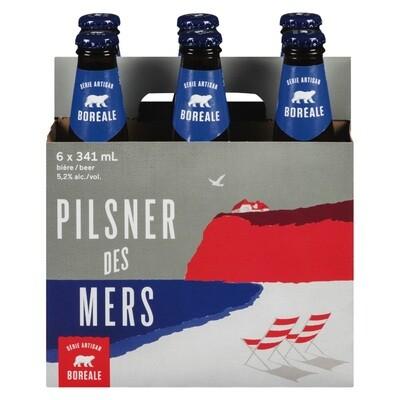 Pilsner des Mers 6-pack 12,99$