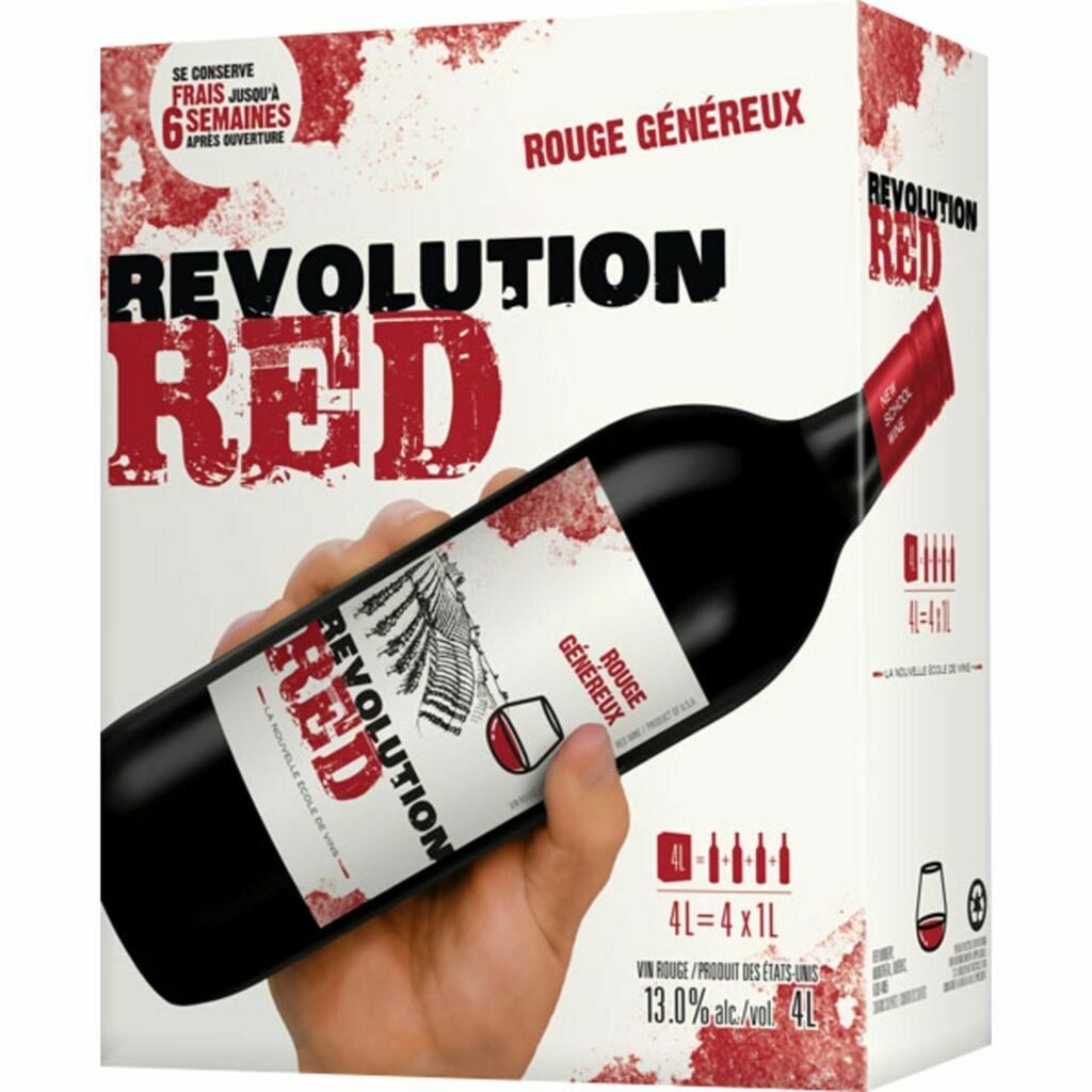 Revolution Red Rouge 4-Litres 46.99$