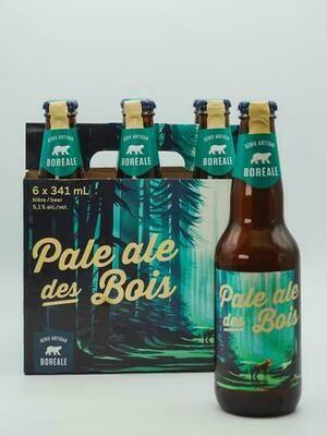 Pale Ale des Bois 6-pack 12,99$