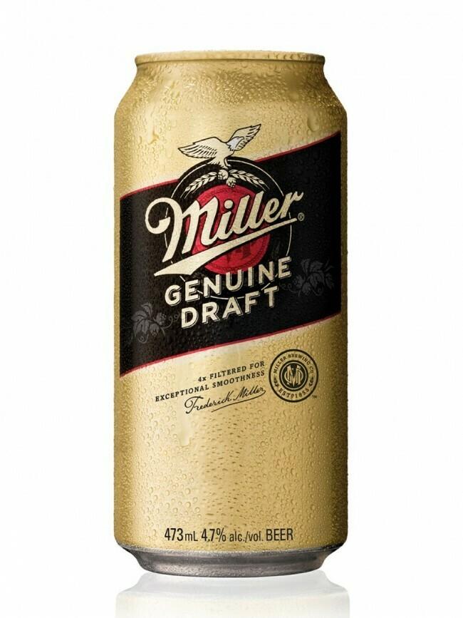 Miller Genuine Draft 12,99$