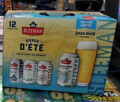 Sleeman Bières D'été 18,99$