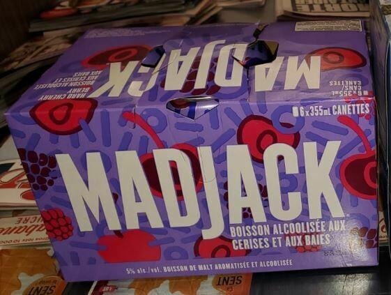 Madjack Caisse de 6 - 13,99$
