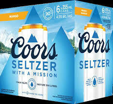 Coors Seltzer 6-pack