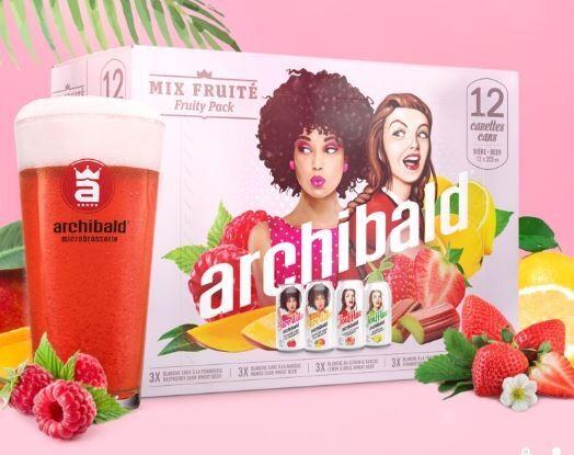 Archibald Mix Fruité 25,99$