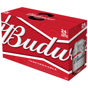 Budweiser 24 Canettes 34.99$