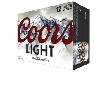 Coors Light 18.99$