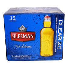 Sleeman Clear au choix 17,99$