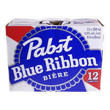 Pabst Blue Ribbon 16.49$