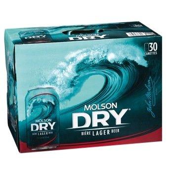 Molson Dry 38.99$
