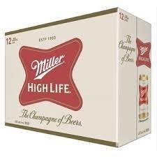 Miller High Life 16,49$