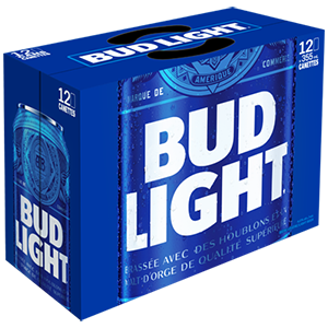 Bud Light 18.99$