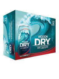 Molson Dry 17,99$