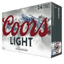 24 x Coors Light 33.99$