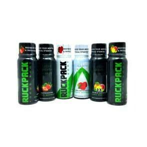 1 BOX (15 Shots) RuckPack 3oz Focus / Energy Shots