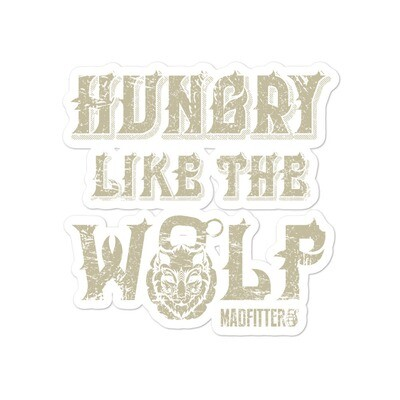 Hungry Like The Wolf Bubble-free stickers