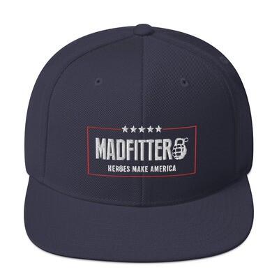 Heroes Make America Snapback Hat