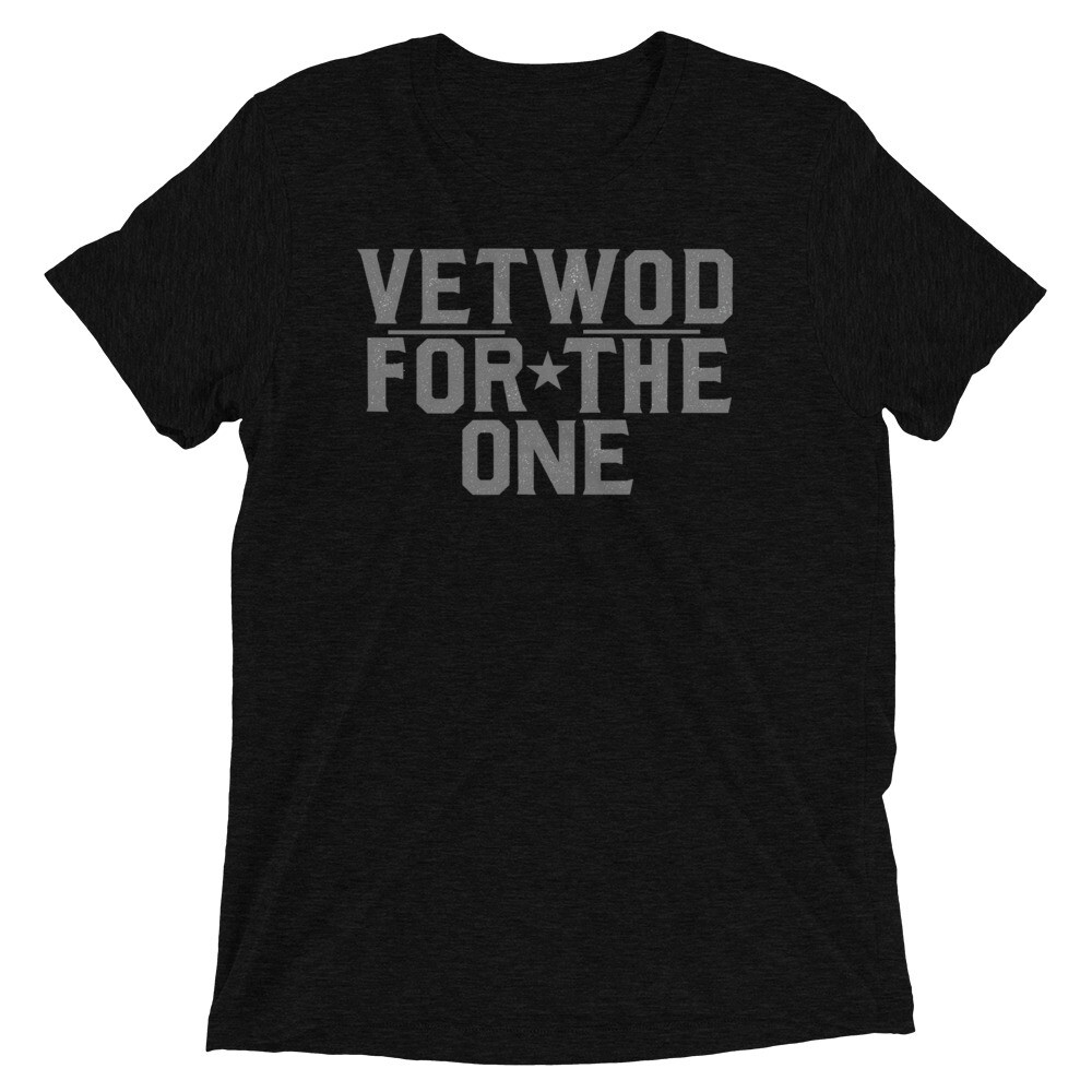 """VETWOD """"For The One"""" Short sleeve t-shirt"""