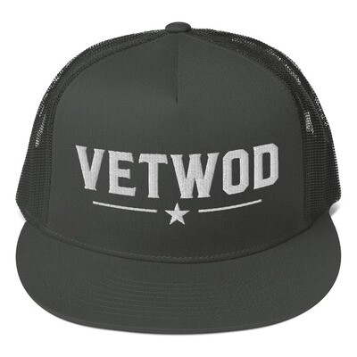 VETWOD Mesh Back Snapback