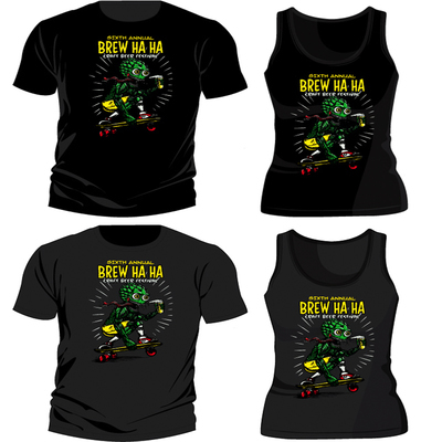 Brew Ho Ho 2015 'Hop Santa' T-Shirt