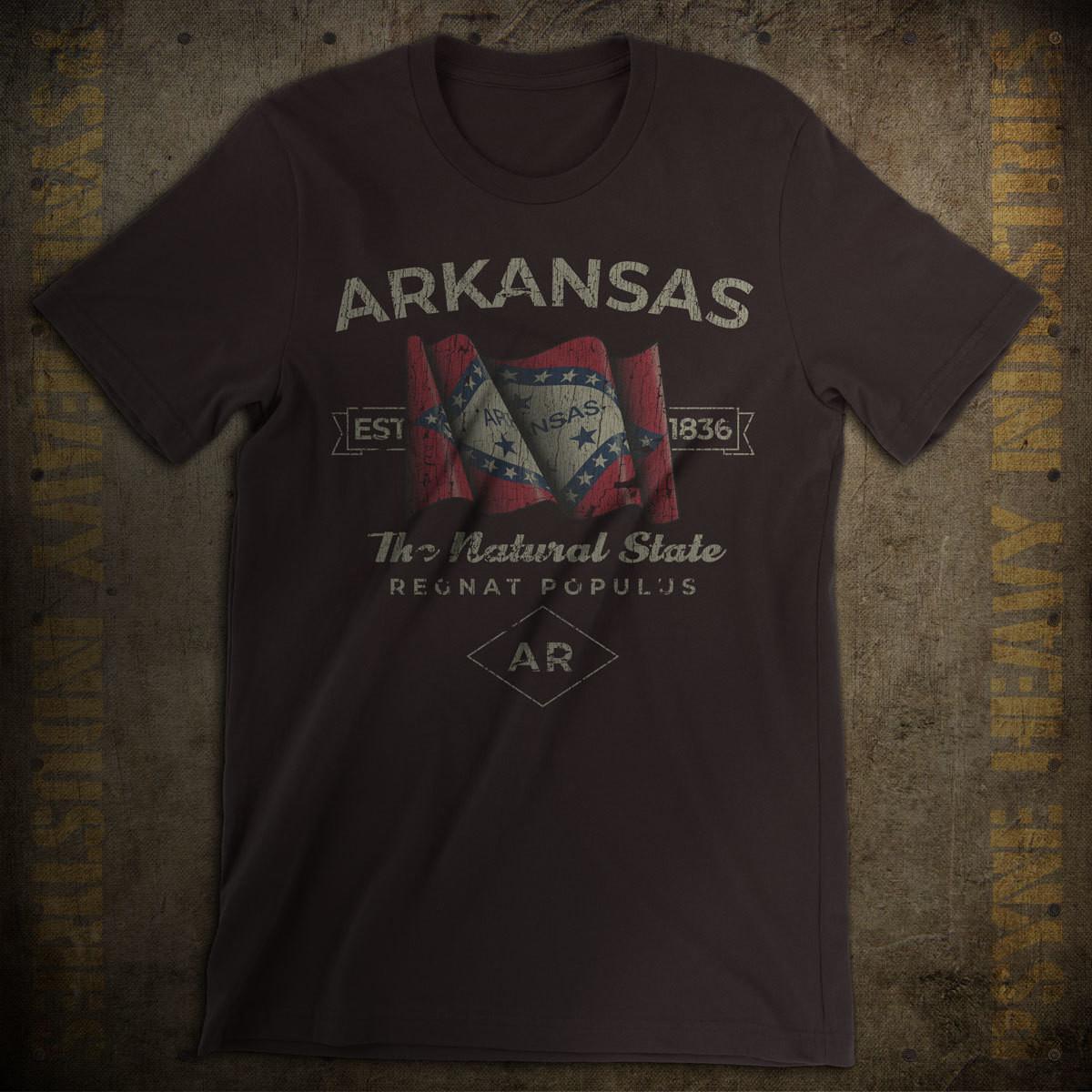 Arkansas 1836 Vintage T-Shirt