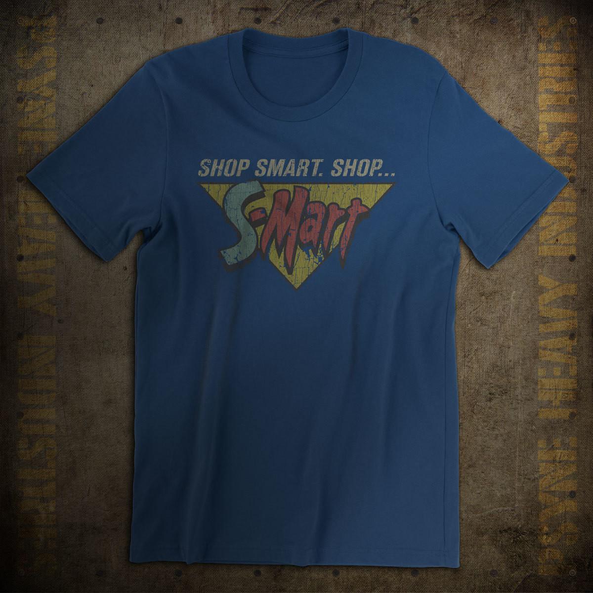 Shop Smart. Shop S-Mart. Vintage Evil Dead T-Shirt
