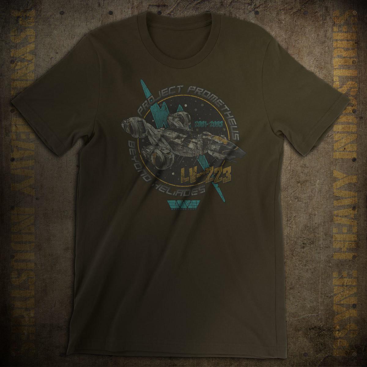 Project Prometheus Crew Vintage T-Shirt