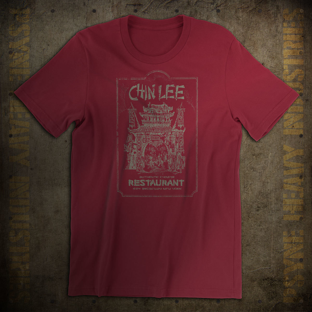 Chin Lee Chinese 1930s NYC Vintage T-Shirt