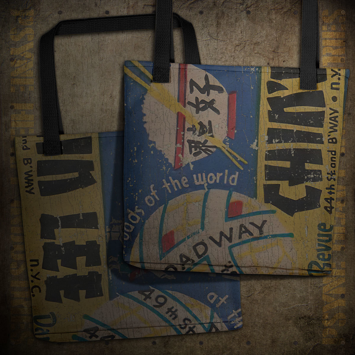 Chin Lee Chinese 1930s NYC Vintage Matchbook Tote Bag
