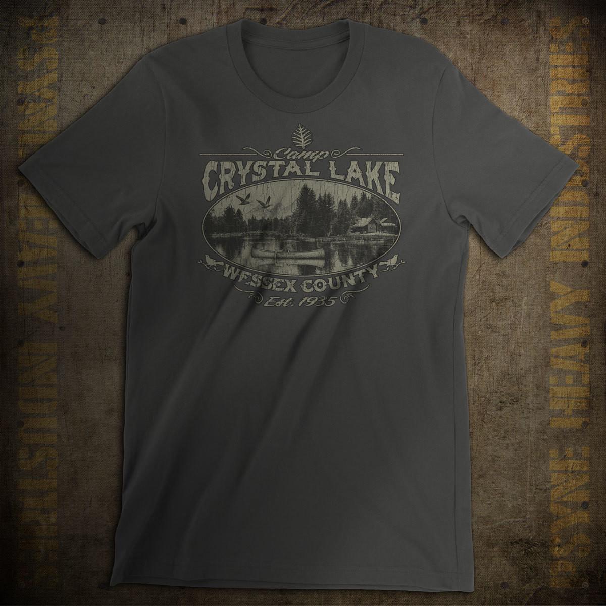 Camp Crystal Lake Vintage T-Shirt