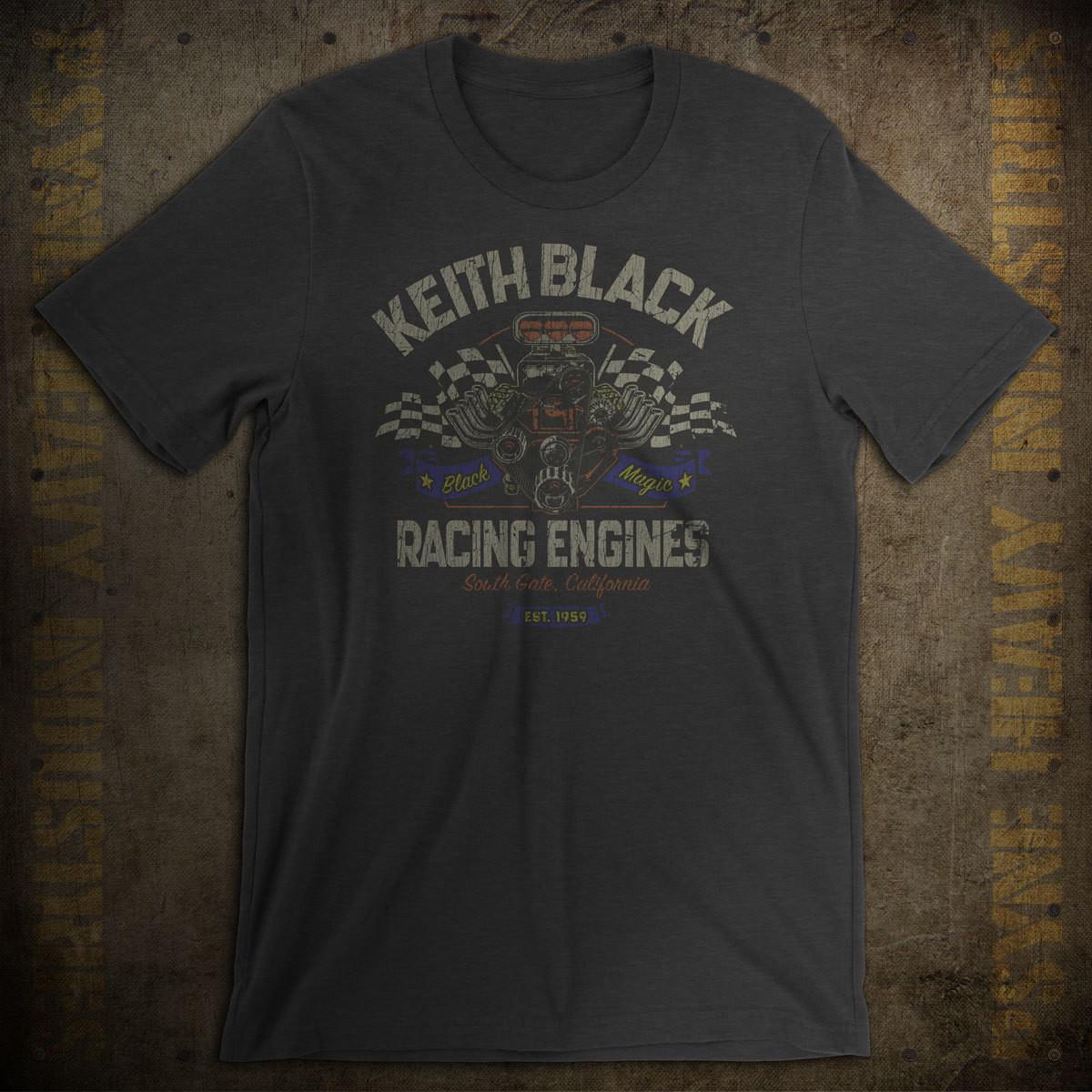 Keith Black Racing Engines Vintage T-Shirt