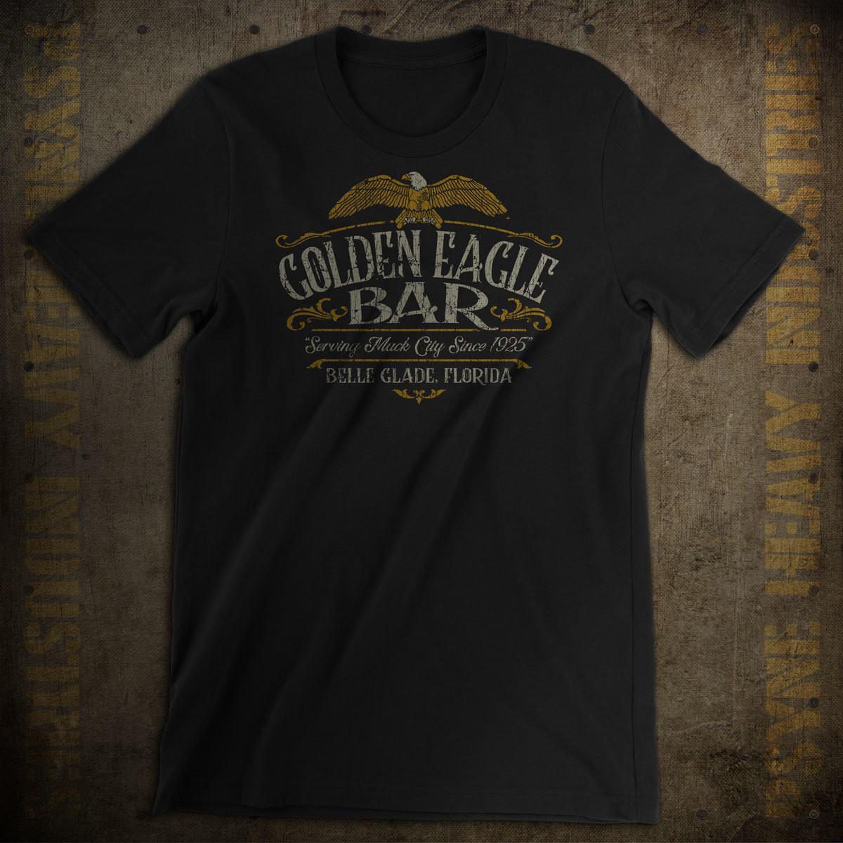 Golden Eagle Bar Vintage T-Shirt