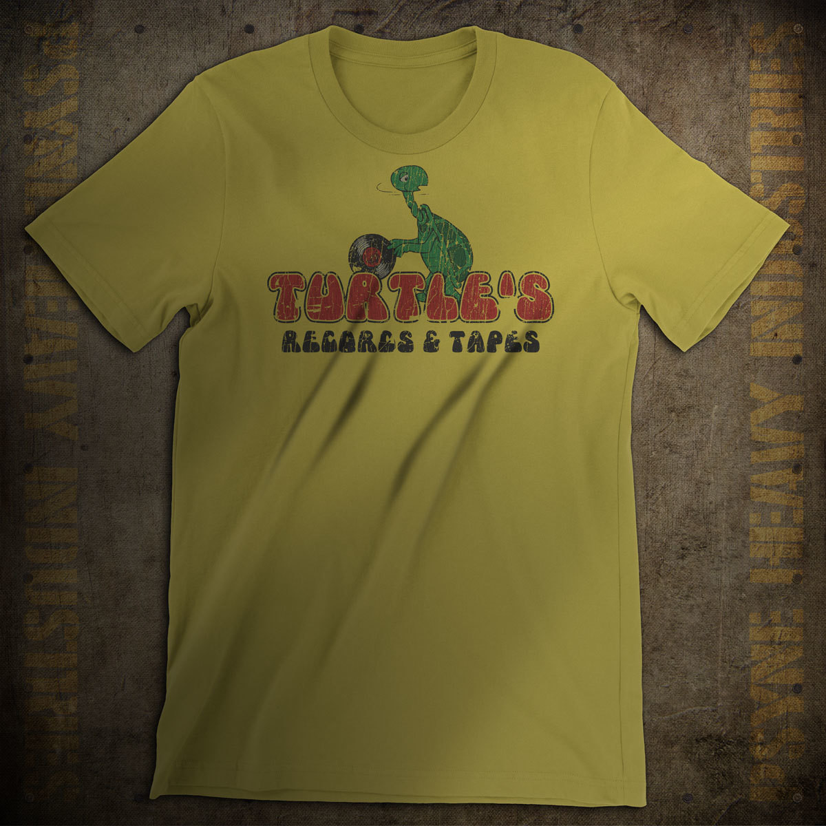 Turtle's Records & Tapes Vintage T-Shirt