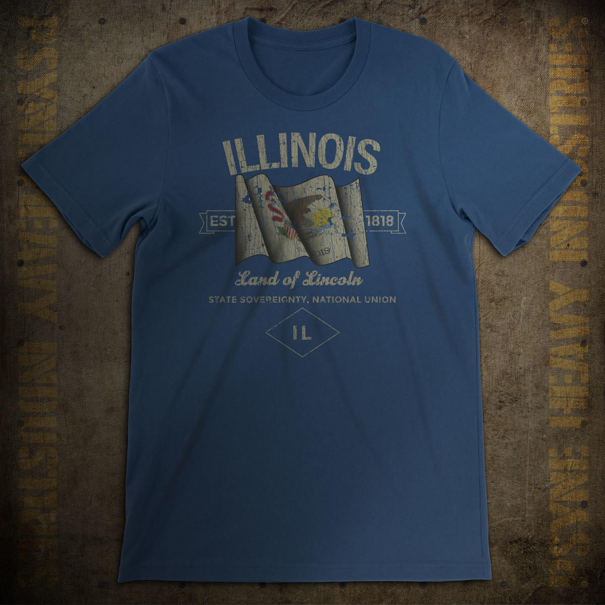 Illinois 1818 Vintage T-Shirt