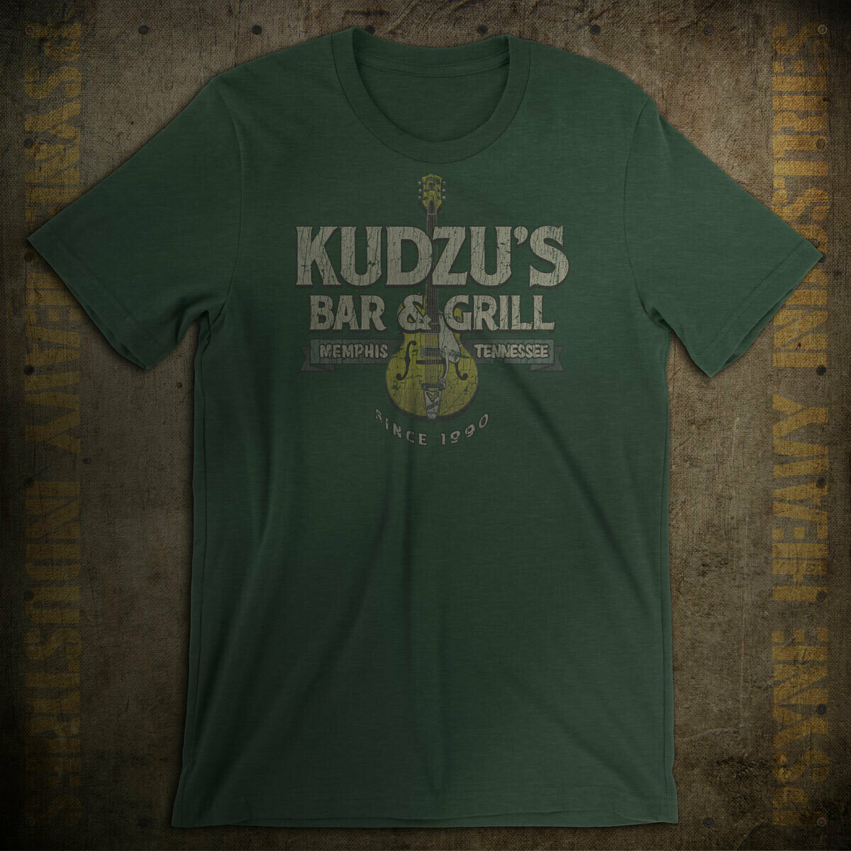 Kudzu's Bar & Grill Vintage Memphis T-Shirt