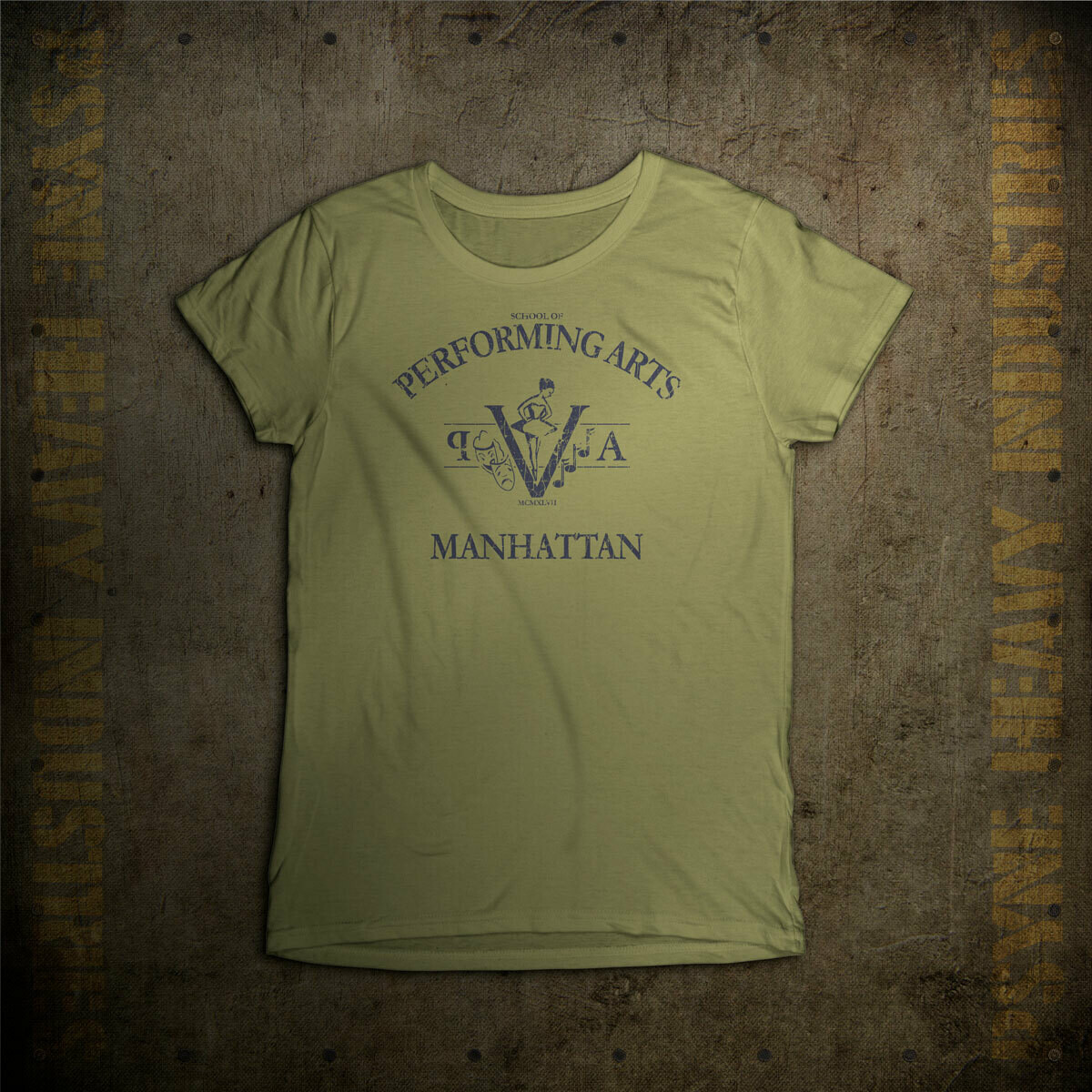High School of Performing Arts Vintage Manhattan NYC T-Shirt - Women's