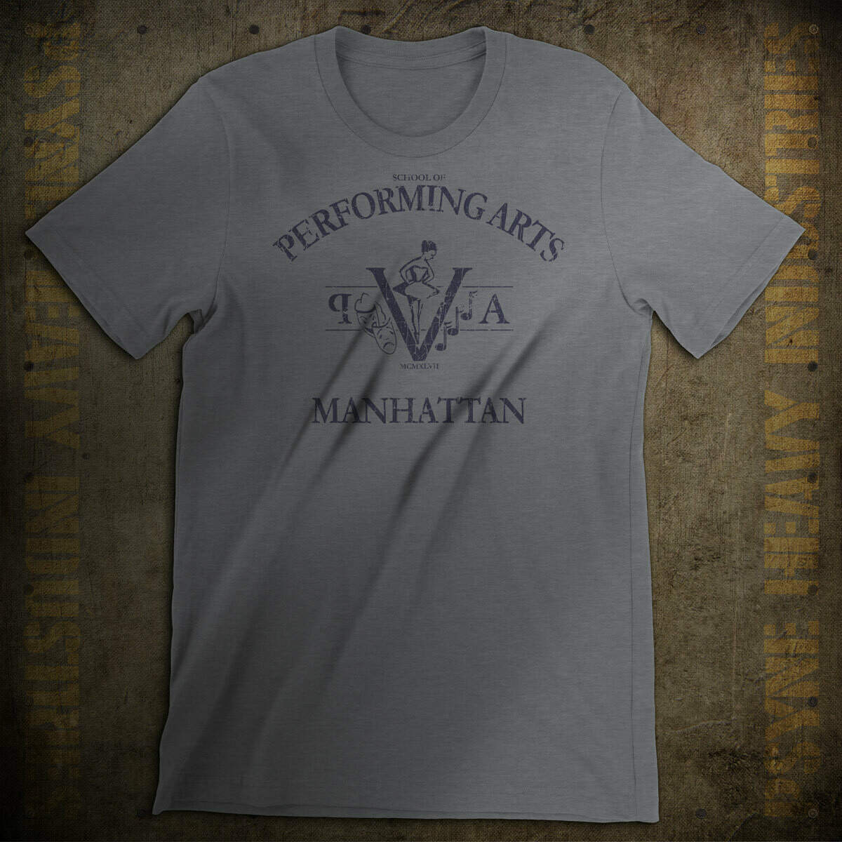 High School of Performing Arts Vintage Manhattan NYC T-Shirt