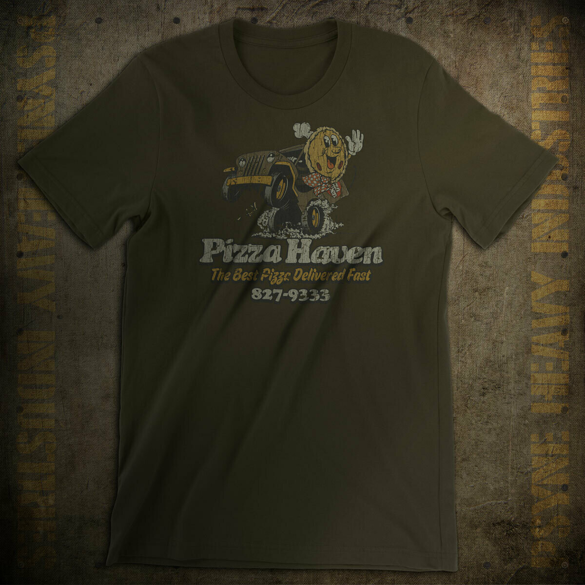 Pizza Haven Delivers Fast Vintage T-Shirt