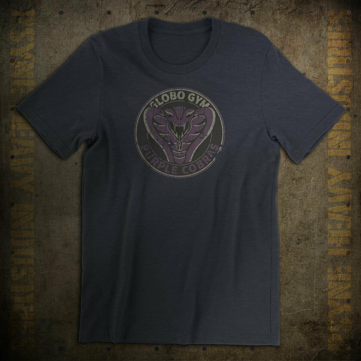 Globo Gym Vintage Purple Cobras Dodgeball T-Shirt