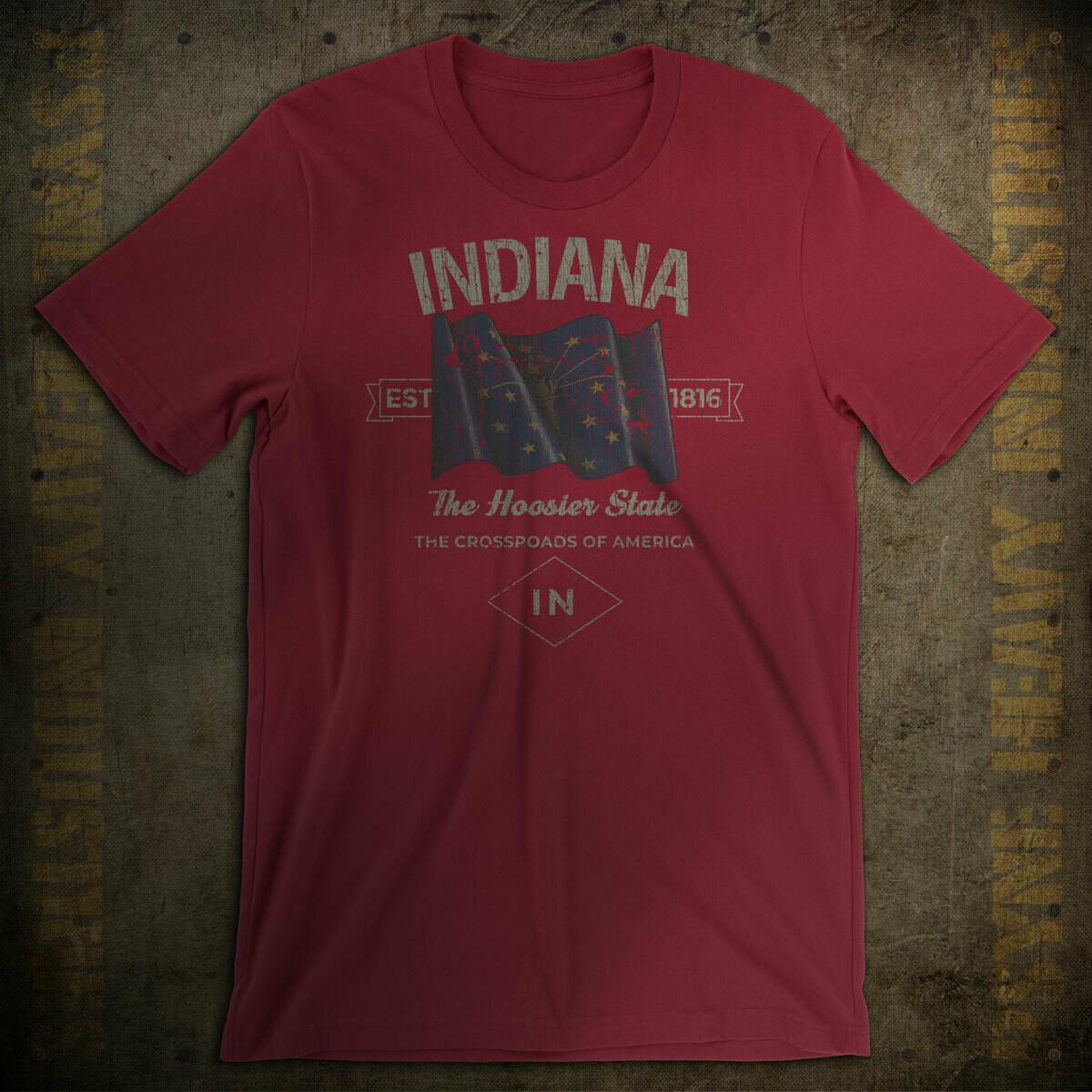Indiana Hoosiers 1816 Vintage T-Shirt