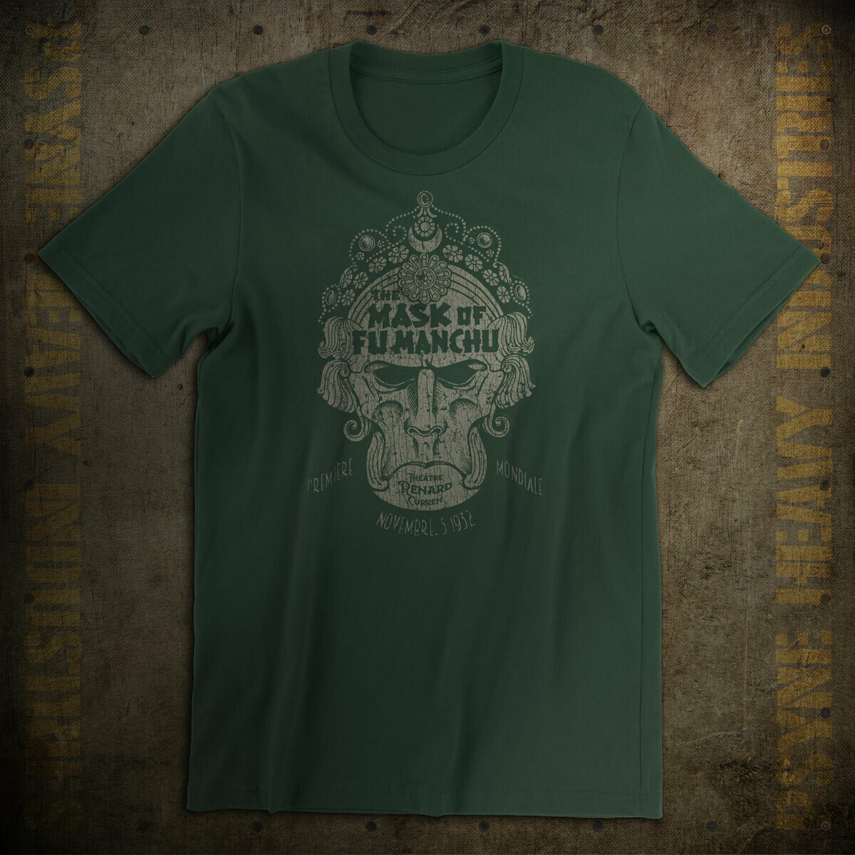 The Mask of Fu Manchu Vintage 1932 T-Shirt