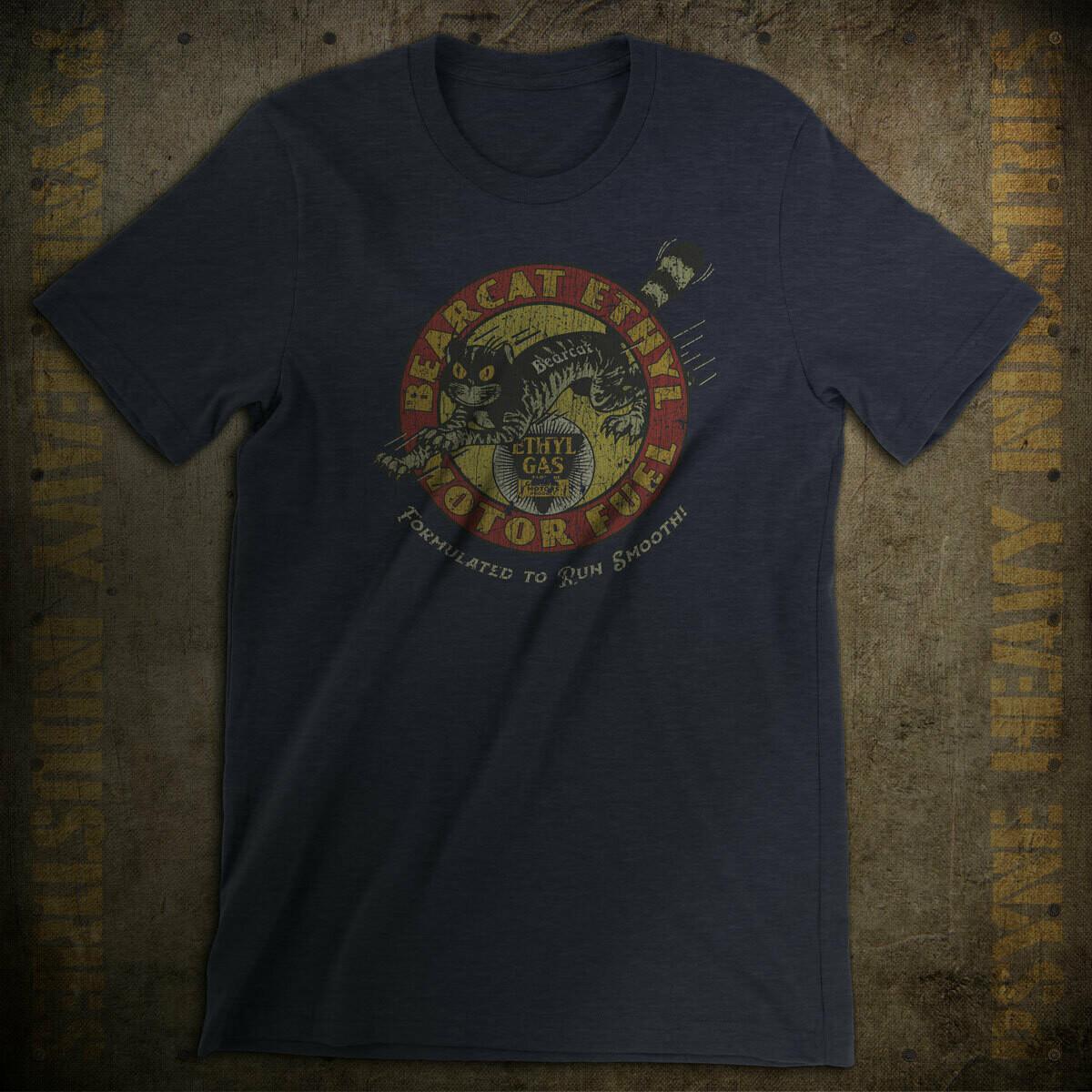 Bearcat Ethyl Motor Fuel Vintage T-Shirt