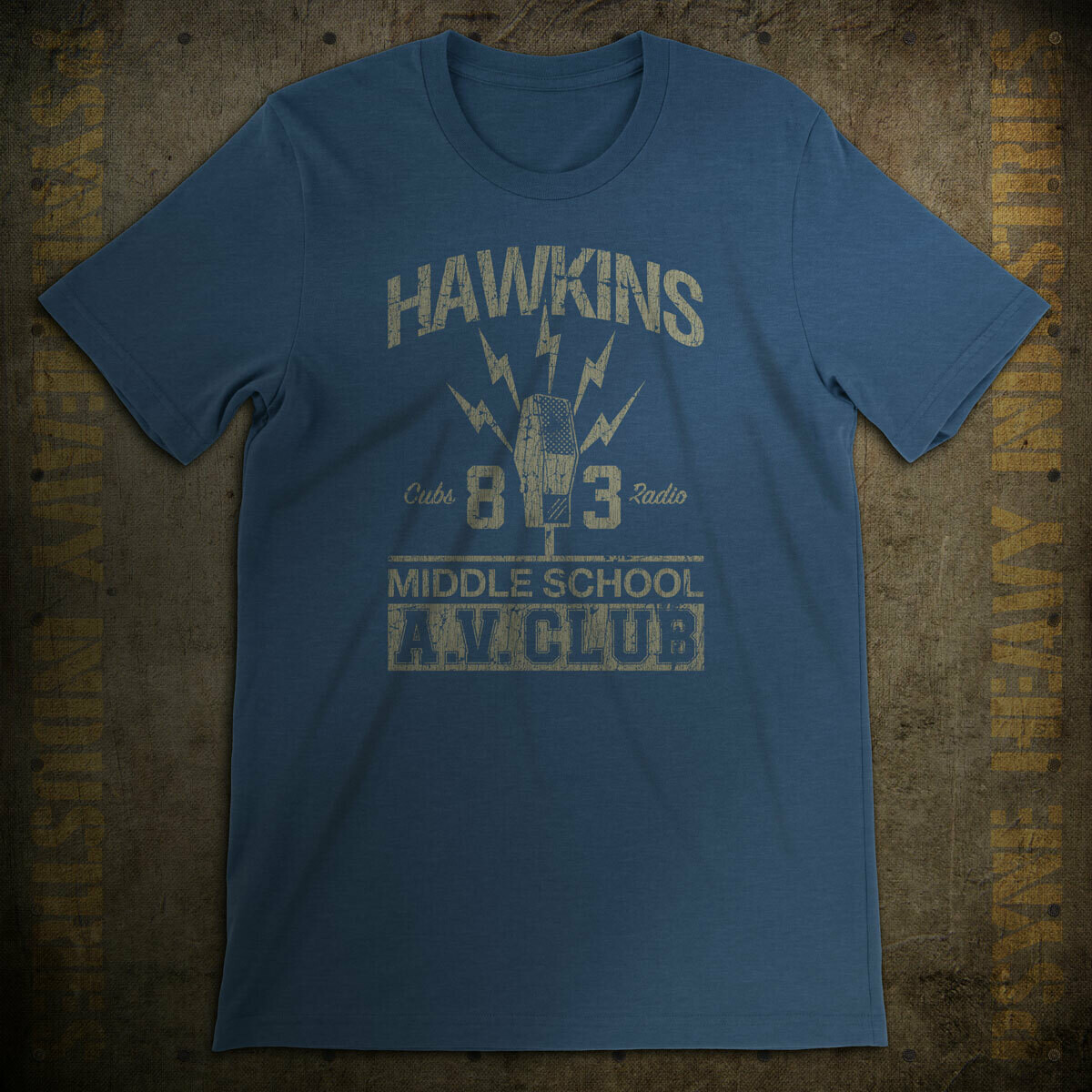 Hawkins Middle School AV Club Vintage T-Shirt