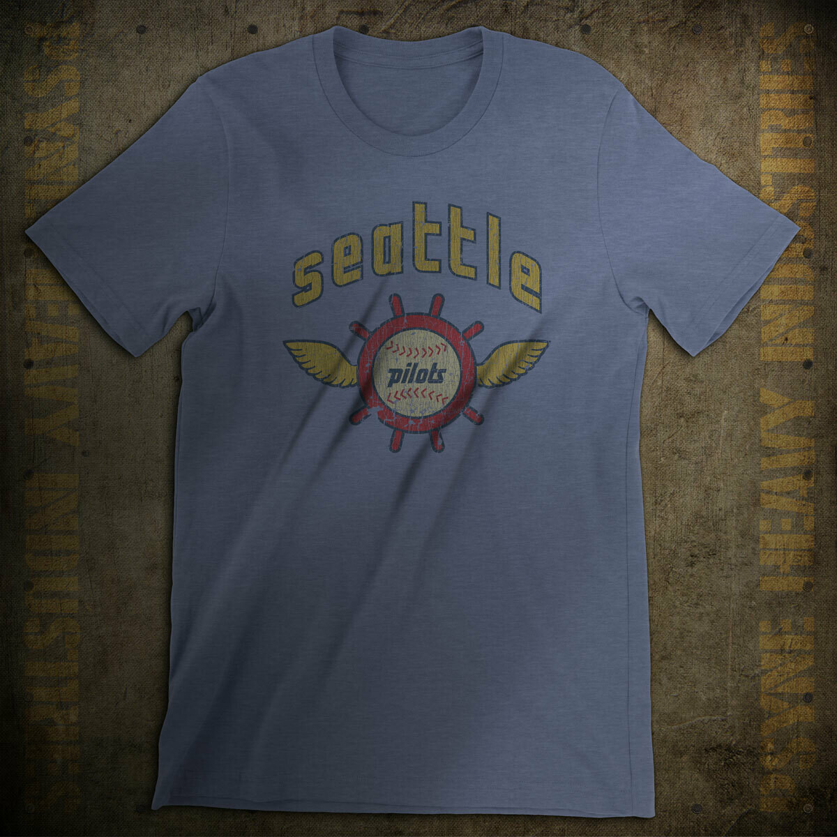 Seattle Pilots Baseball Vintage T-Shirt