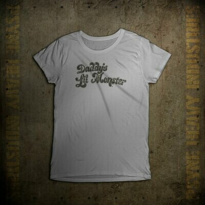 Daddy's Lil' Monster Vintage T-Shirt - Women's