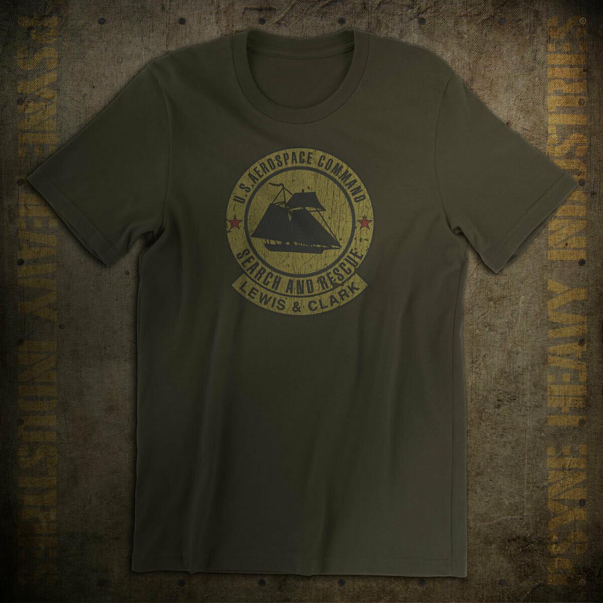 U.S.A.C. Lewis & Clark Crew Insignia Vintage T-Shirt