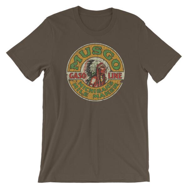 Musgo - Muskegon Gas & Oil Company Vintage T-Shirt
