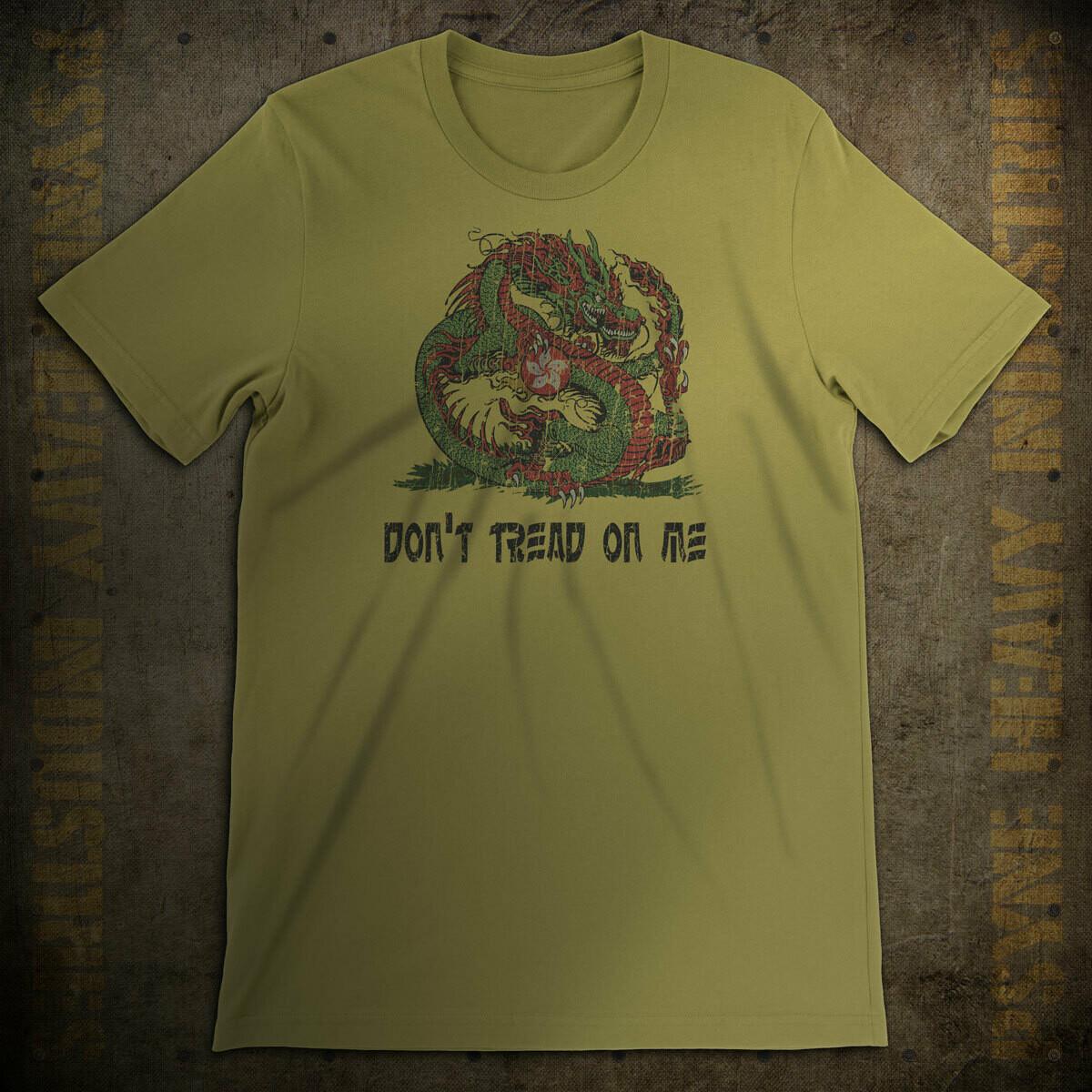 Don't Tread On Me (Hong Kong) Vintage T-Shirt
