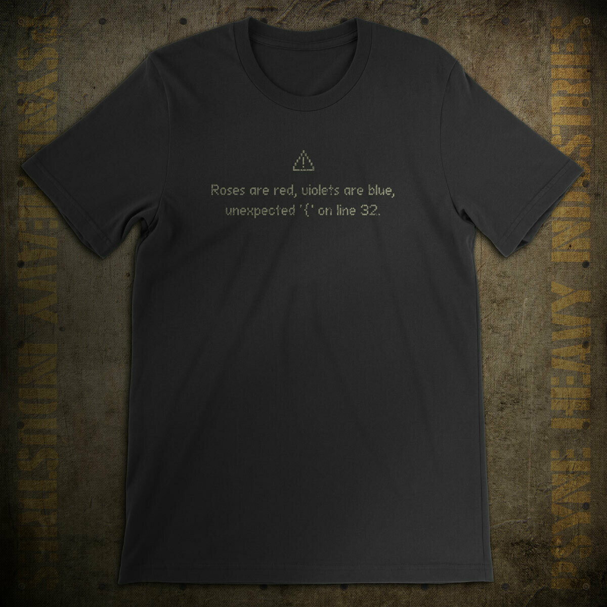 Roses Are Red... Error Vintage Hackers T-Shirt