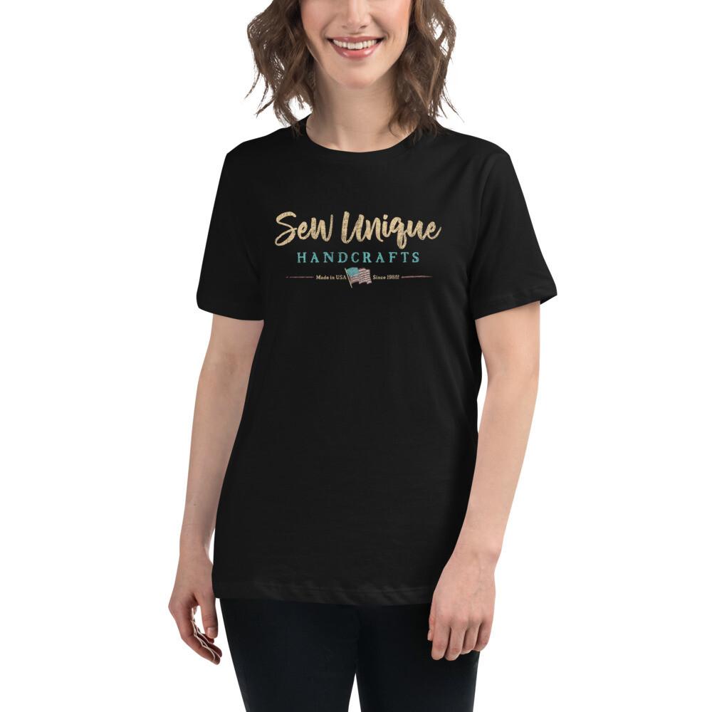 Sew Unique Handcrafts Chalkboard T-Shirt