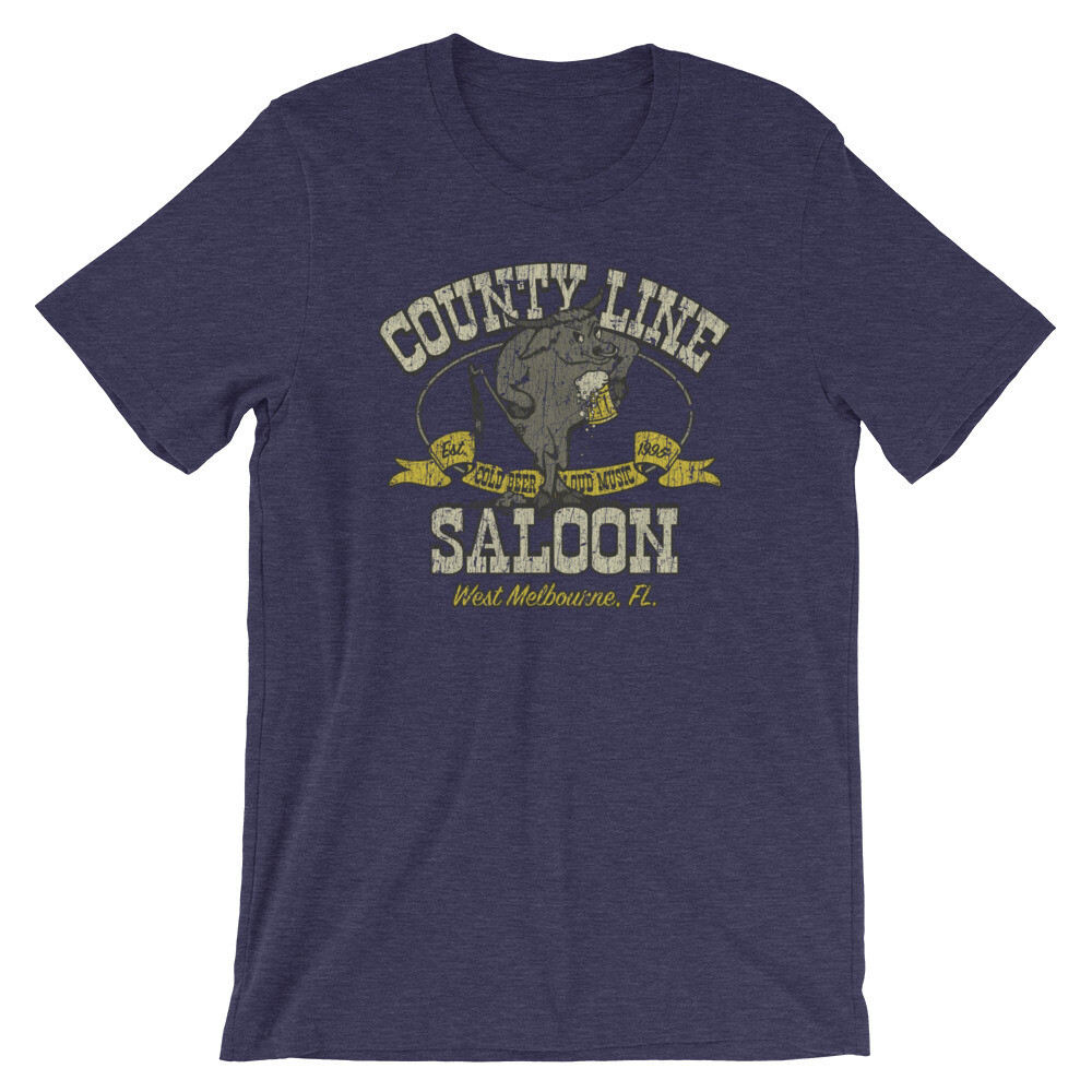 County Line Saloon Vintage T-Shirt
